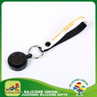 Special silicone gifts lovely cheap keychain
