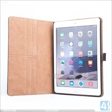 for iPad Air 2 holder case book flip leahter Case cover for iPad Air 2 with card slot