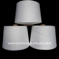 30S Raw White Knitting&Weaving Polyester Spun Yarn