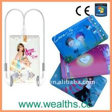 Christmas Promotional Gift Card Mp3 Player