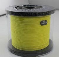 500M Braided lines yellow PE 4 braid fishing line wholesale