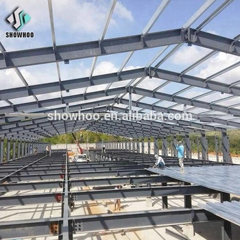 Low Price Steel Frame Design Double Floor Layer Chicken Shed