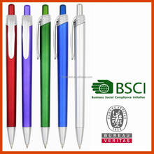 New Promotional Logo Ball Pen with different fitting,Metallic Ball pen laser logo projector