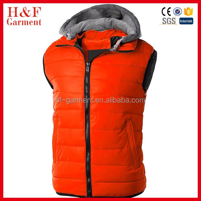 100% polyester gilet custom vest and waistcoat winter warm vest