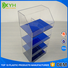 Glass cell phone accessories showcase,acrylic display cabinet