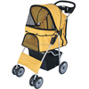 Easy Folding Pet Stroller with 4 wheel carts