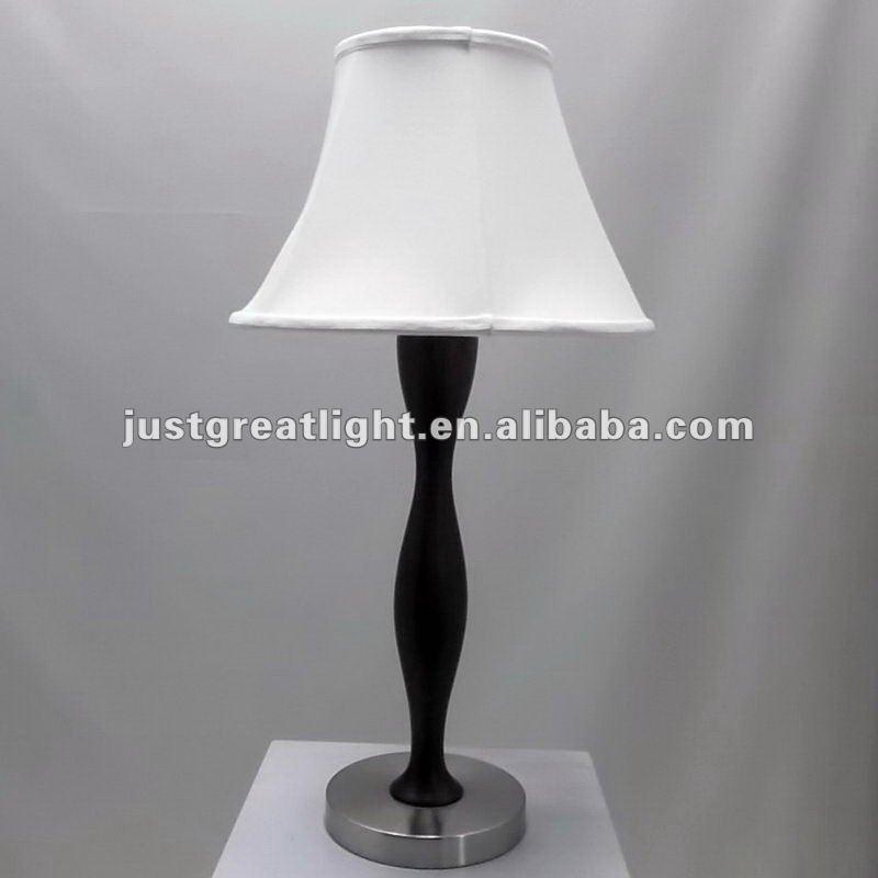 Campana di copertura classica lampada da tavolo con base in legno per interni lampade da tavolo - Lampada da tavolo classica ...