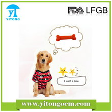 Yitong dog pet toys cat toys silicone pet safe silicone