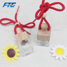 6ml Mini Customed Made Empty Glass Bottle Hanging Crystal Glass Bottle for Perfume Wholesales