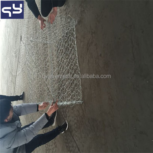 Anping Factory supplier galvanized welded gabion box /basket/wall price