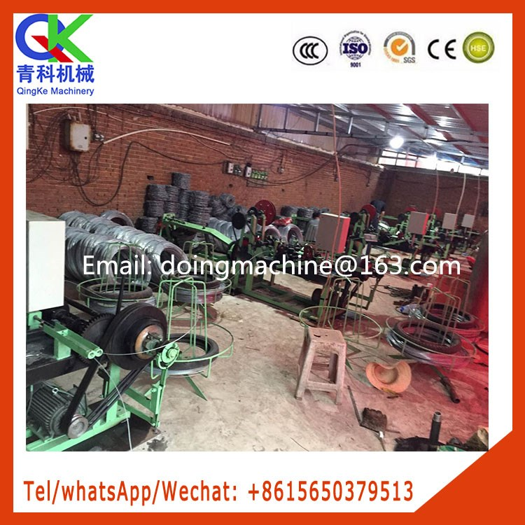 High speed and high quality razor wire cutting machine