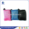 Durable colored golf ball mesh bags drawstring