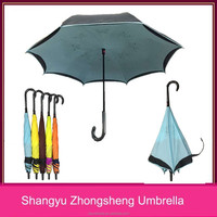 hot sell inverted umbrella promotion reverse umbrella manufacturer china