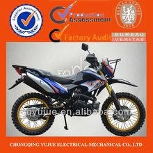 2013 New Design 200cc/250cc Powerful Dirt Bike/Brazil Dirt Bike Double Muffler Inverted Shock