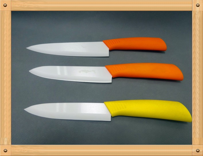 Carving knife set, best zirconia material kitchen knife ceramic paring knife