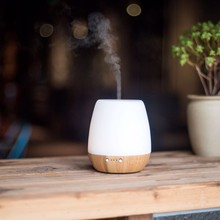 Popular New Product Portable High Quality Humidifier Wooden Aromatherapy Diffuser Bamboo Essential Oil