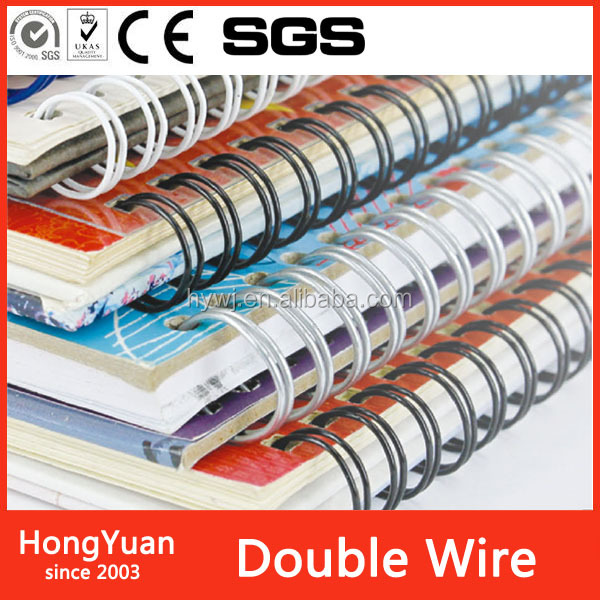 Fastener File Double Binding Wire For Book Binding
