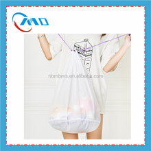 Simple Fashion Custom Drawstring Mesh Laundry Wash Bag