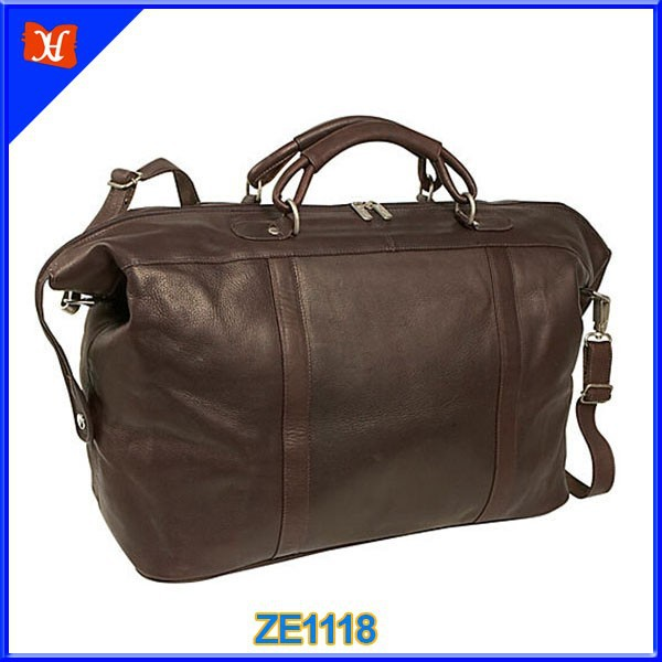 leisure genuine leather travel bag large capacity duffel duffle bag, luxury , women men,warer-resistant, fashion wholesale