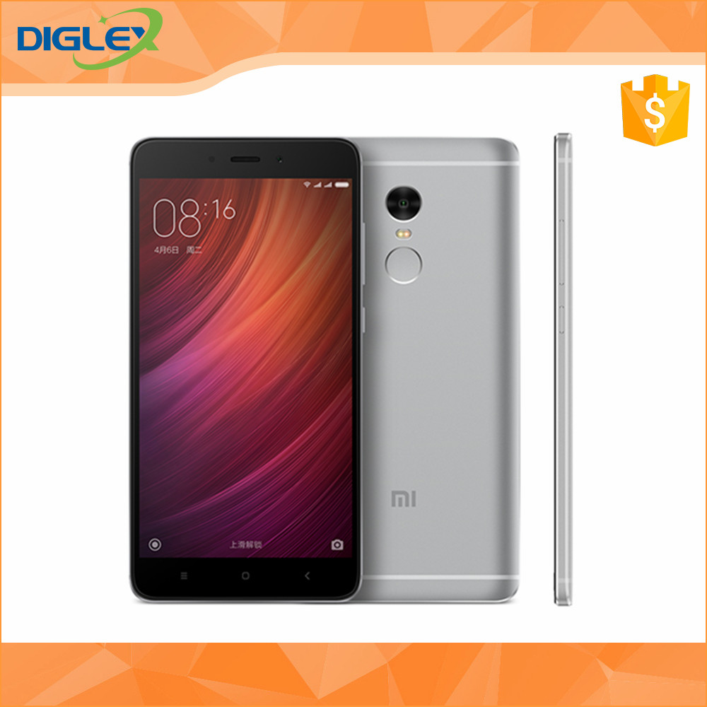 "Original Xiaomi Redmi Note 4 Pro Mobile Phone Helio X20 Deca Core 2.1Ghz 5.5"" 1920X1080 64GB ROM 13.0Mp MIUI 8 global rom"