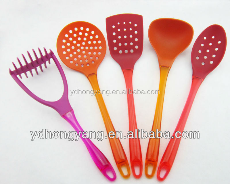 2016 popular nylon utensils/cooking utensils and function