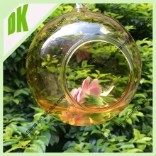 A~yellow color~You can hang the glass vase in the bedroom, living room, office~wholesale hanging glass vase decals