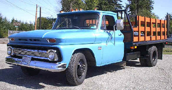 1966 1 ton Chevy truck