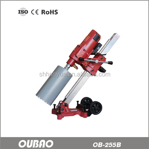 OB-255B vertical angle adjustalbe industrial grade diamond core drilling machines for Europe