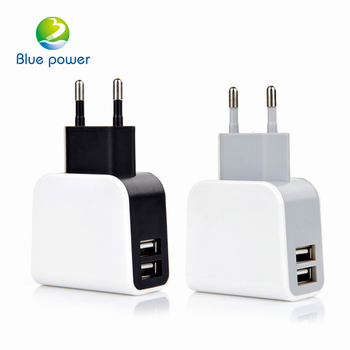 EU US UK plug universal usb wall charger 2 port usb 2.1A/3.5A mobile accessories for iphone charger