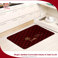 Best choice high quality orange kitchen floor mats