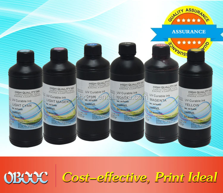 High Quality Compatible UV Ink forCeramic by DX7/5 Printer Head