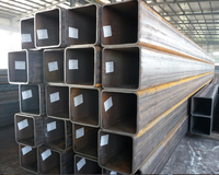 ASTM A500 q195-q235 square and rectangular welded mild steel pipe