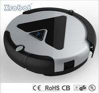 Smart vacuum clean robot with efficient cleaning function
