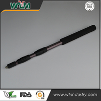 Anodized CNC aluminum parts for custom fishing rod