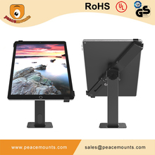 Universal Rotatable Lockable Tablet Kiosk Stand Desk Mount with Clamp