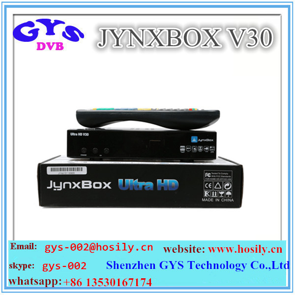 Jynxbox ultra hd v30 with build in jb200 full hd for North America