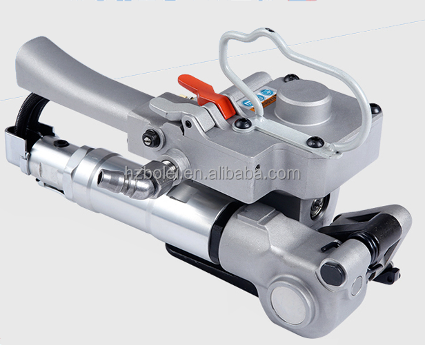 Pneumatic Sealless PP PET Strapping Tools Packing Machine