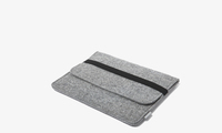 Hot Selling! Soft portable felt laptop case notebook case protective skin laptop sleeve computer bag ultrabook cover for ipad