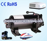 Auto ac compressor for motorhome Cabinet cooling refrigeration unit for cargo van