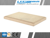 acoustical wall panels fiber glass insulation perforated fabric