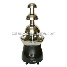 best quality hot selling dinner party chocolate machine/chocolate fountain machine