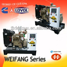 Diesel chinese weifang generator best fuel efficient power generators