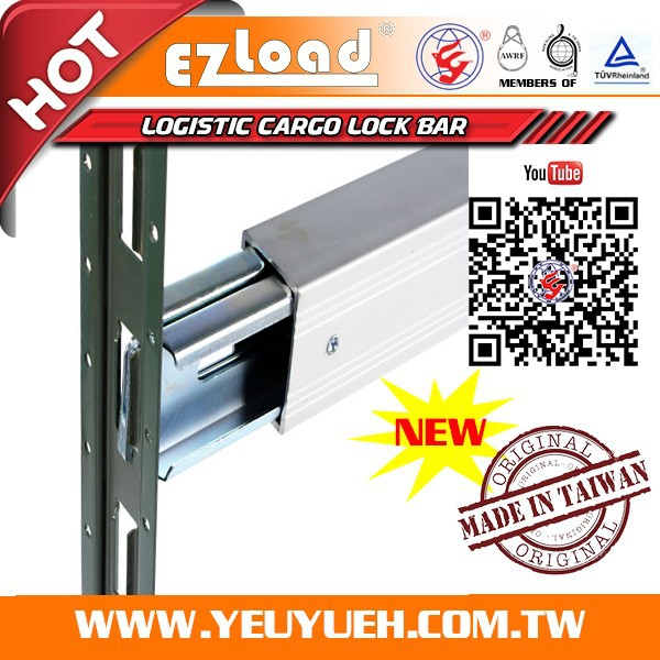 [EZ LOAD] 1T Aluminum Truck Load Lock Bar for Container E Track