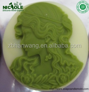 Nicole silicone rubber clay mold epoxy resin craft molds for mobile phone accessories baby diy tool F0004
