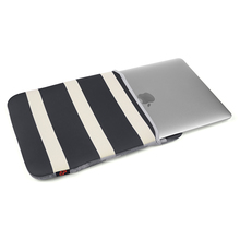 Bold Strip Pattern Protective Neoprene Carrying Bag Sleeve for Macbook 12