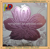 beautiful decorative glass plate wall art for promotion