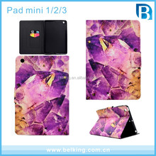 Marble PU Leather Holder Kickstand Tablet Wallet Case For iPad Mini1 2 3