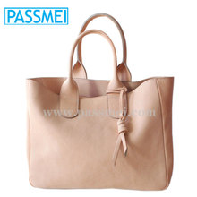 Quality and Durable Natural Vegetable Tanned Leather Tote Bag for Women