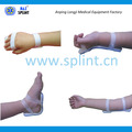 Wrist immobilization for transfusion I.V. arm board