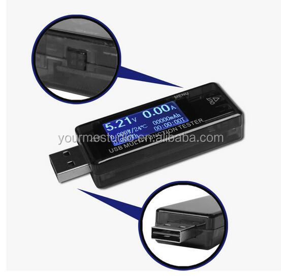 Mobile phone charging protector USB multifunction tester